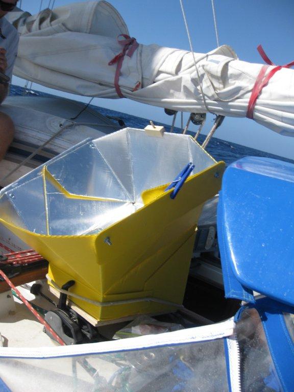 solar oven pinned
