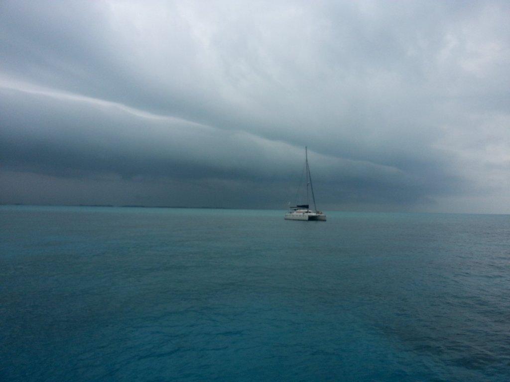 hard rain coming