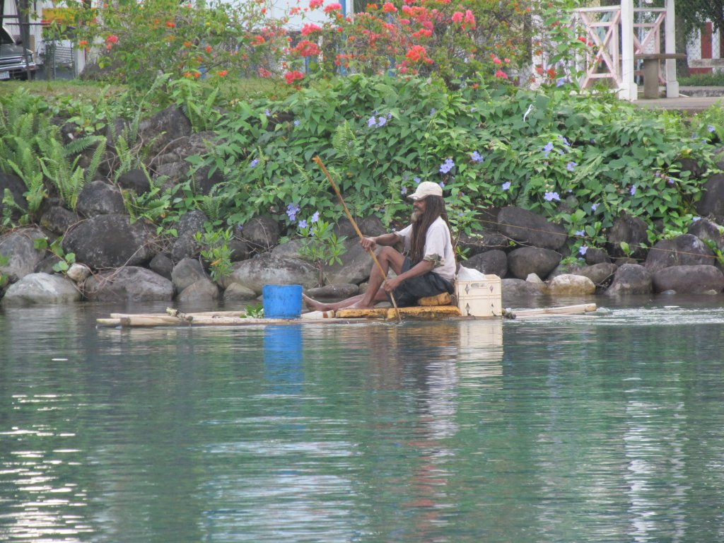 A crazy man who lives in a mangrove swamp