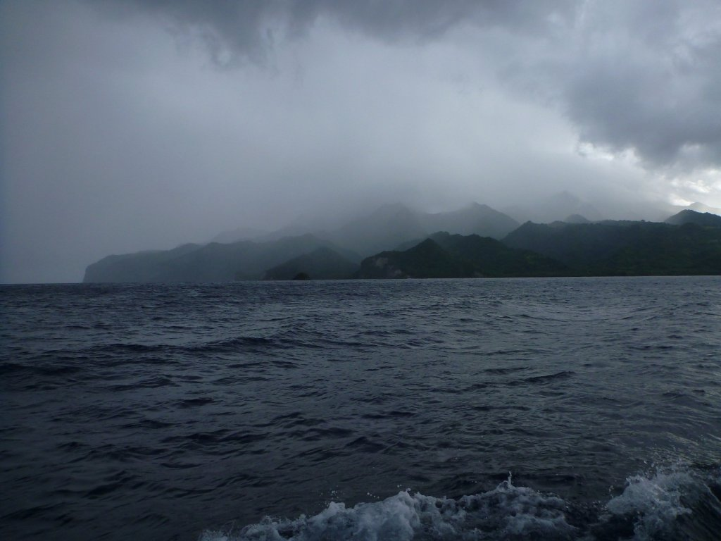 Leaving Martinique