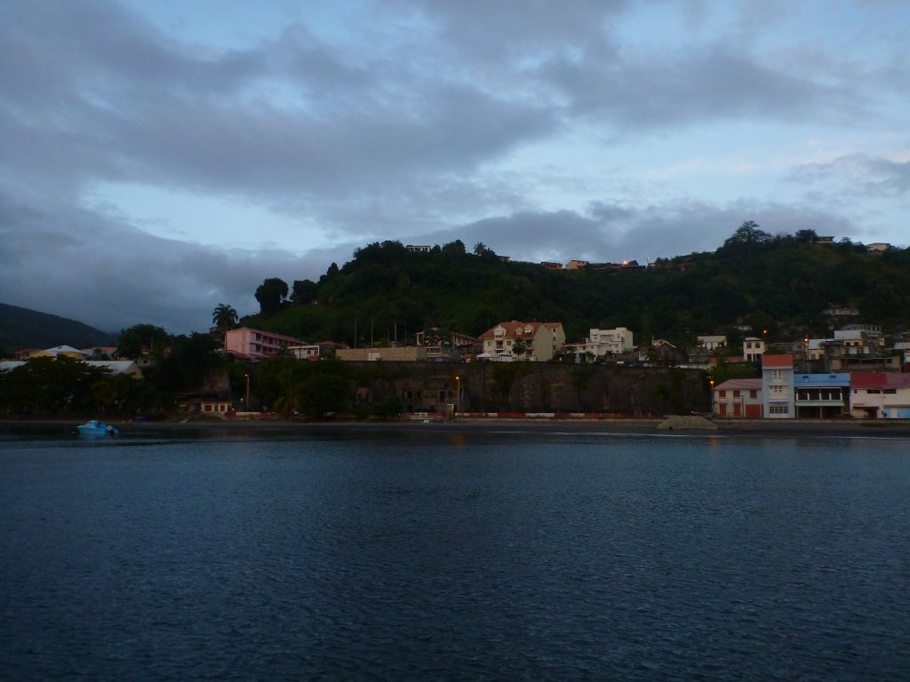 St Pierre from the sea