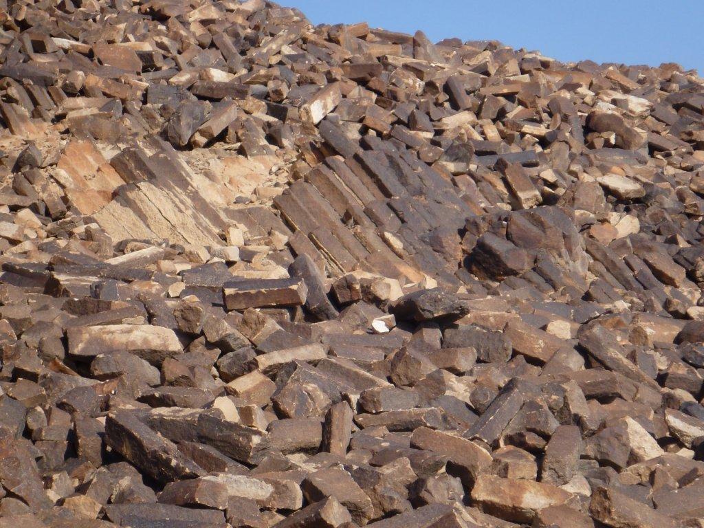 crystallized sandstone