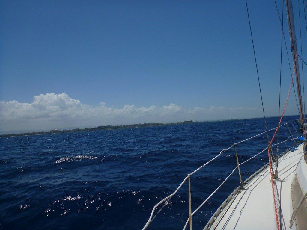 sailing, er, motoring