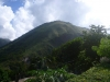 up the volcano