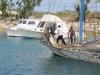 Haitian trader has no motor so they use the jib